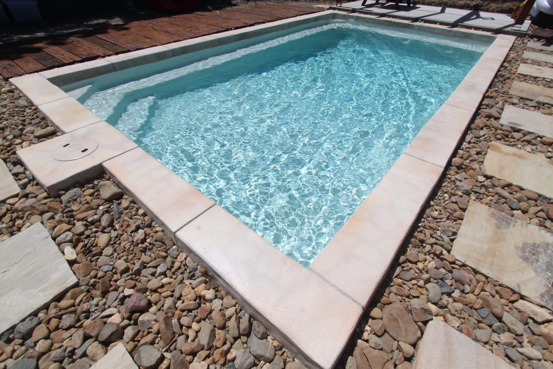 exotic stone swimming pool Gold Coast